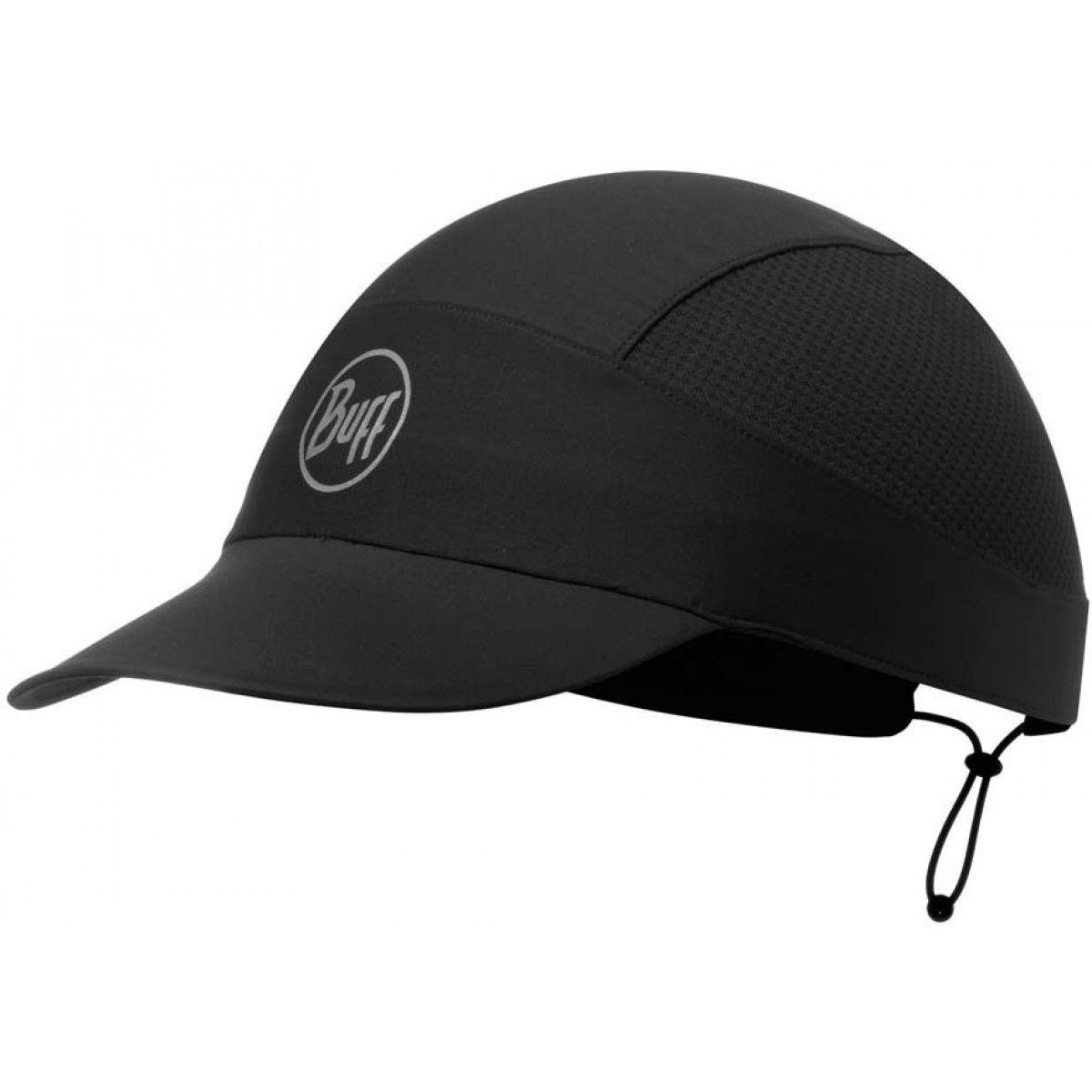 Buff Pack Run Cap - R-black