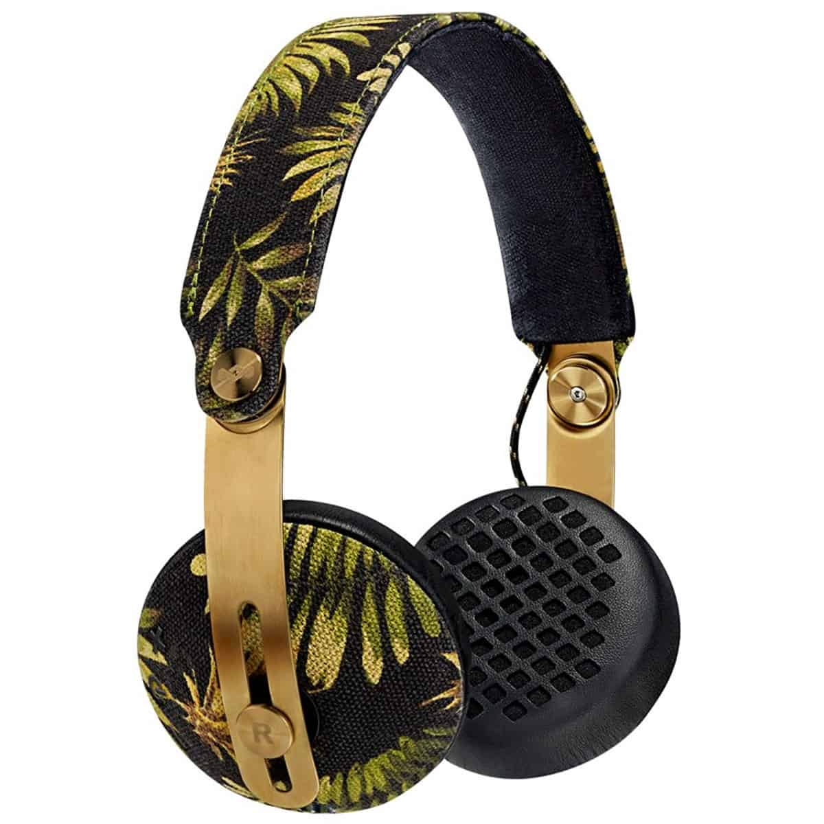 House of Marley Rise BT Wireless Bluetooth Headphones - Palm