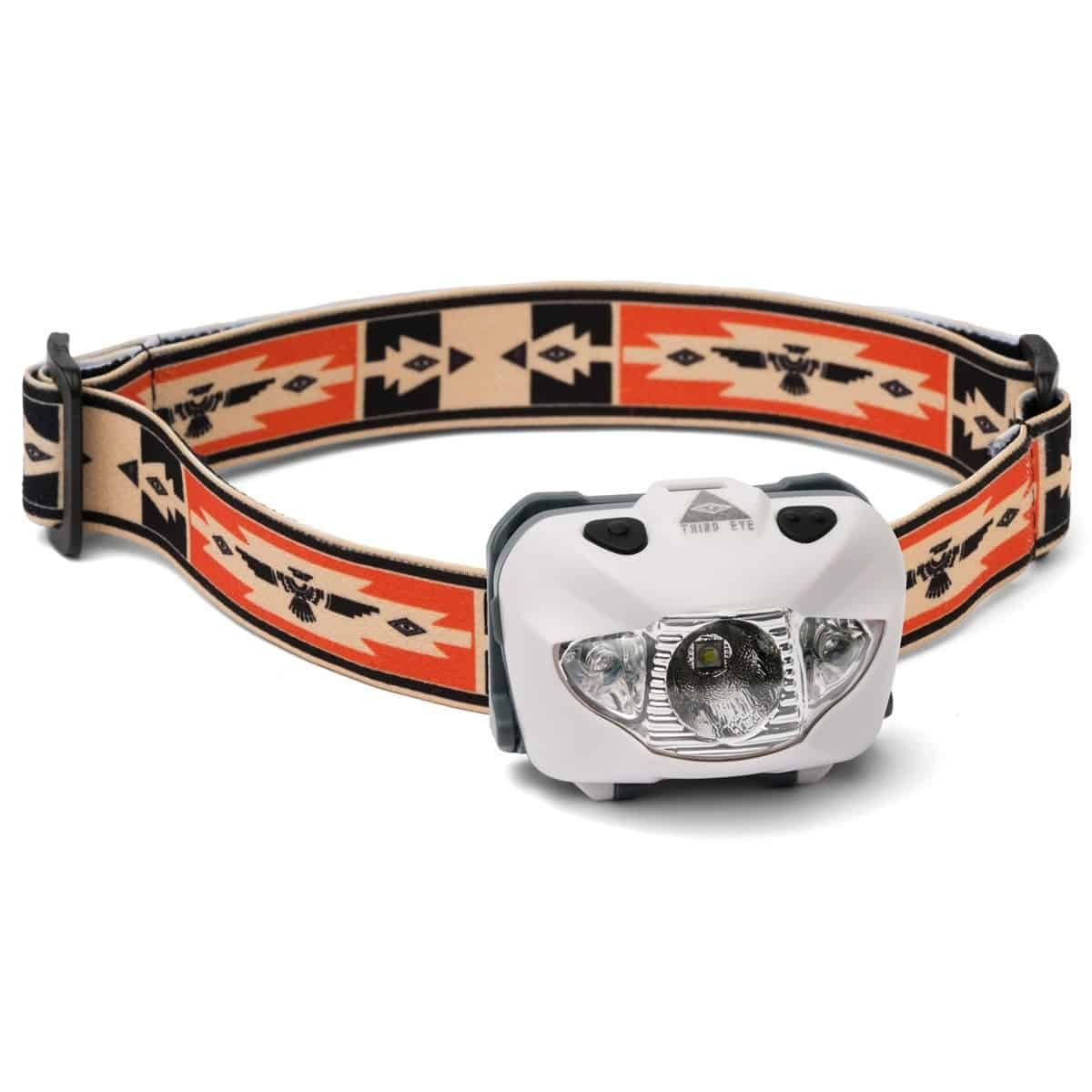 Third Eye Headlamps TE14 - Hvid - Thunderbird