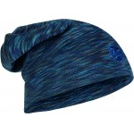 Buff Heavyweight Merino Wool Loose Hat - Denim Multi Stripes
