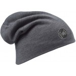 Buff Heavyweight Merino Wool Loose Hat - Solid Grey
