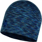 Buff Heavyweight Merino Wool Regular Hat - Denim Multi Stripes