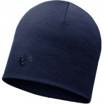 Buff Heavyweight Merino Wool Regular Hat - Solid Denim