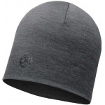 Buff Heavyweight Merino Wool Regular Hat - Solid Grey