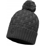 Buff Knitted Hat - Airon Grey