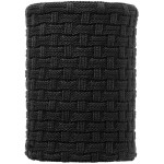 Buff Knitted & Polar Fleece Neckwarmer Airon Black