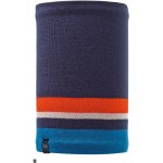 Buff Knitted & Polar Fleece Neckwarmer Ovel Blue
