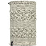Buff Knitted & Polar Fleece Neckwarmer Savva Cream