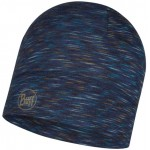 Buff Lightweight Merino Wool Hat - Denim Multi Stripes