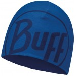 Buff Microfiber & Polar Hat - Logo Blue