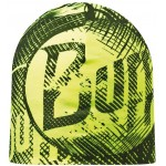Buff Mikrofiber Reversible Hat - Log Us // Yellow