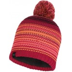 Buff Neper - Knitted & Polar Hat - Bright Pink
