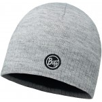 Buff Taos - Knitted & Polar Hat - Grey