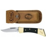Case Hammerhead Lockback W/leather Sheath kniv