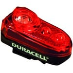 Duracell 3 LED baglygte cykellygte
