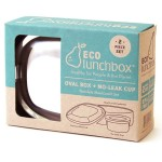 ECOlunchbox Madkasse Oval & Snack Cup