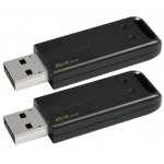 Kingston 2-pack 64gb Usb 2.0 Datatraveler 20 - Diverse