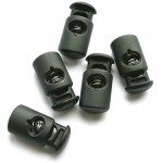Lowe Alpine Cord Lock Black (x5 in packet) - Sort