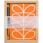 Orla Kiely - Notebook & Pen Set Linear Stem