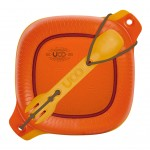 UCO 4 Piece Mess Kit madkasse og utility-spork - Retro Sunrise