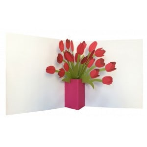 2ToTango - Pop-up Card Tulips