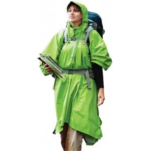 Image of   70D Tarp Poncho Green