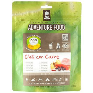 1 portion chili con carne adventure food