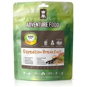 Vegetar breakfast expedition food adventure 1 portion