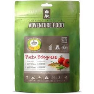 Image of   2 portioner pasta bolognese adventure food