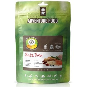 Image of   2 portioner sate babi adventure food