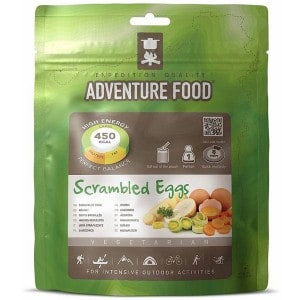 1 portion scambled eggs adventure food