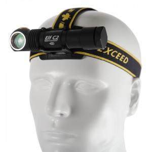 Image of   Armytek ELF C2 Micro-USB Genopladelig Pandelampe - XP-L Warm Light