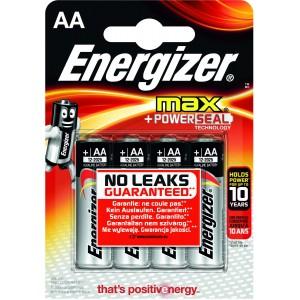 Image of   Batteri Energizer Max LR6/AA 4st
