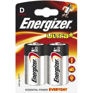 Image of   Batteri Energizer Ultra+ LR20/