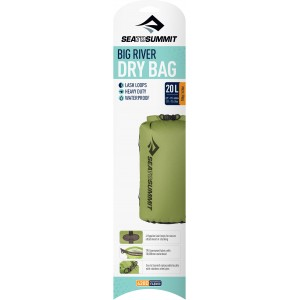 Image of   Big River Dry Bag - 20 Litre Apple Green