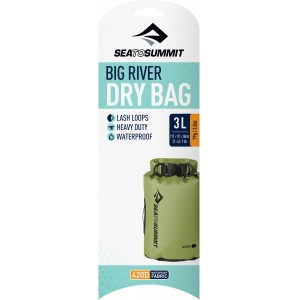 Image of   Big River Dry Bag - 3 Litre Apple Green