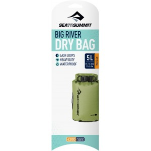 Image of   Big River Dry Bag - 5 Litre Apple Green