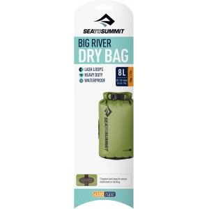 Image of   Big River Dry Bag - 8 Litre Apple Green
