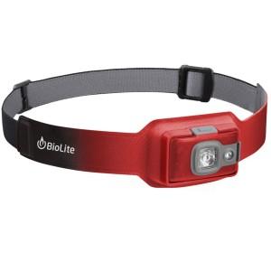 BioLite Headlamp 200 Genopladelig Pandelampe - Ember Red