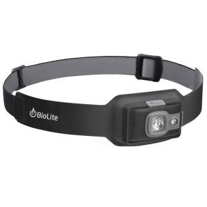 BioLite Headlamp 200 Genopladelig Pandelampe - Midnight Grey