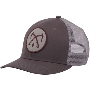 Image of   Grå black diamond bd trucker hat