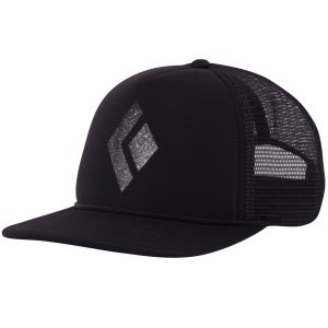Image of   Hat trucker black diamond flat bill sort