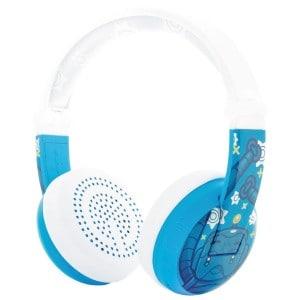 Image of   Blå robot wave buddyphones