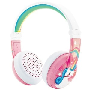 Image of   Unicorn pink buddyphones wave
