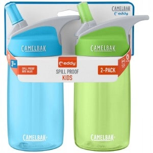 Image of   CamelBak eddy Kids 400 ml Sky Blue/Grass - 2-Pak
