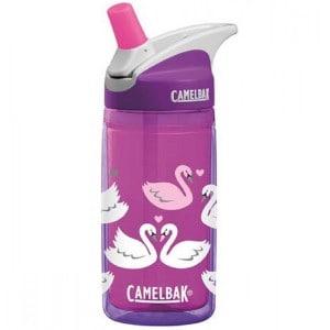 Image of   CamelBak eddy Kids Insulated 400 ml - Purple Swans