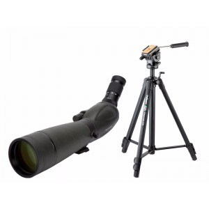 Image of   Celestron Kit Trailseeker 20-60x80 & Videomate 638