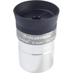 Image of   Celestron Omni Plossl Eyepiece 6mm