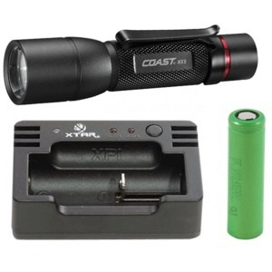 Image of   COAST HX 5 + Nitecore i1 USB oplader + 3.6V Li-ion batteri