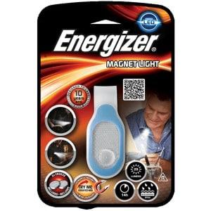 Blå magnet led lygte energizer